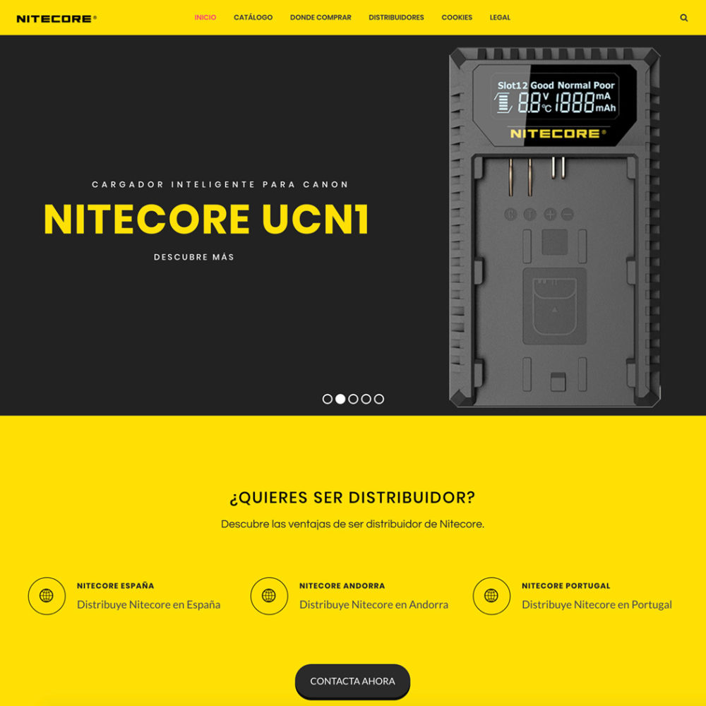 Mantenimiento WordPress Nitecore® Photo